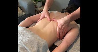 Extrait massage Dos