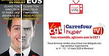Rendez-vous à tous nos délégués (es) Cgt carrefour hypermarché le 11 - 12 - 13 mars 2020 à Montreuil