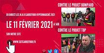 DIRECT NAO CARREFOUR 2021 sur le site CGT carrefour