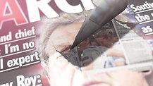 Newspaper Clip B