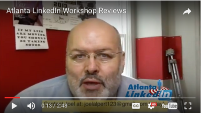 Atlanta-LinkedIn-Workshop-Testimonial-Review