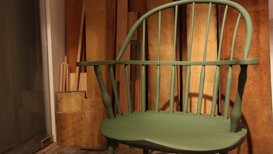 Sack Back Windsor Chair Making