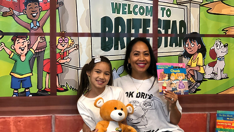 Brite Star and Massage Envy Book Drives