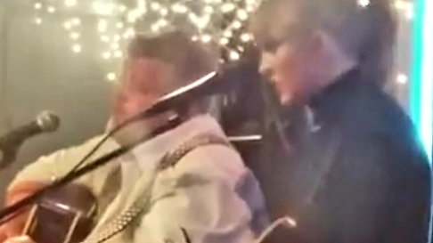 Taylor Swift singing Better Man at The Bluebird