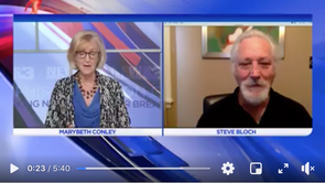 Publisher Steve Bloch interview with MaryBeth Conley 8/28/2020