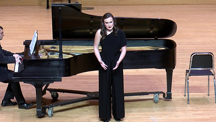 Soprano Haley Burgh singing Io son l'umile ancella