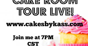 Cake Room Tour