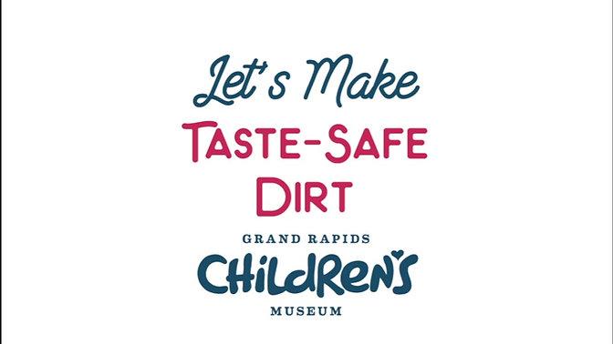 Taste-safe Play Dirt