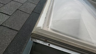 Old Dome Skylight Leaking