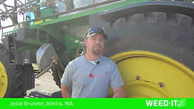 Jesse Brunner, Almira, WA  -  When to spray