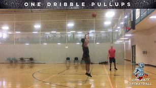 ONE DRIBBLE PULL-UPS
