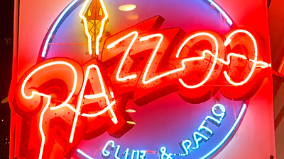 Club Razzoo on Bourbon St. Channel