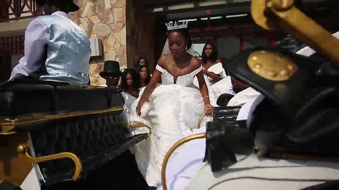 Dr Bright and Nana Ama Wedding