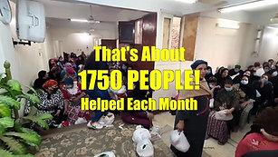 EGYPT: FEEDING 350 CHRISTIAN FAMILIES A MONTH