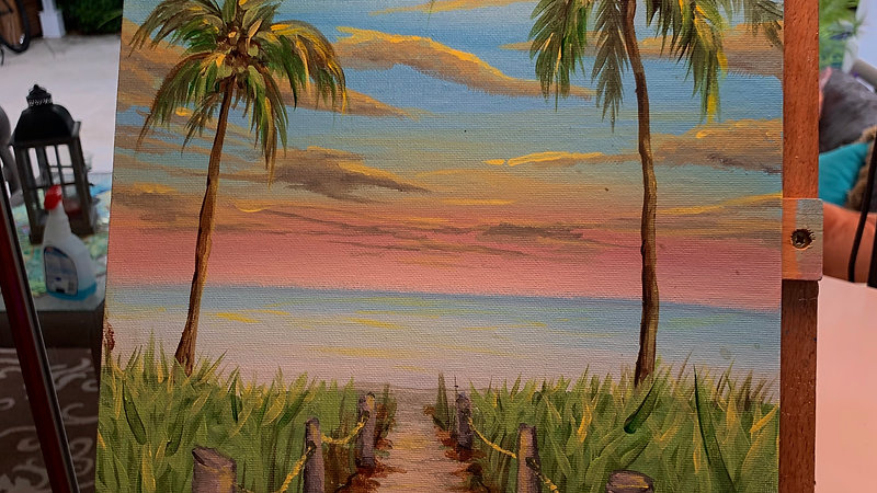 Paint & Sip - Smathers Beach