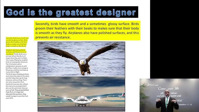 God is the Greatest Designer