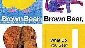 Brown Bear, Brown Bear, What Do You See (Seek and Find) by BIll Martin Jr. and Eric Carle