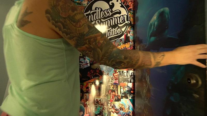 Endless Summer Tattoo Build