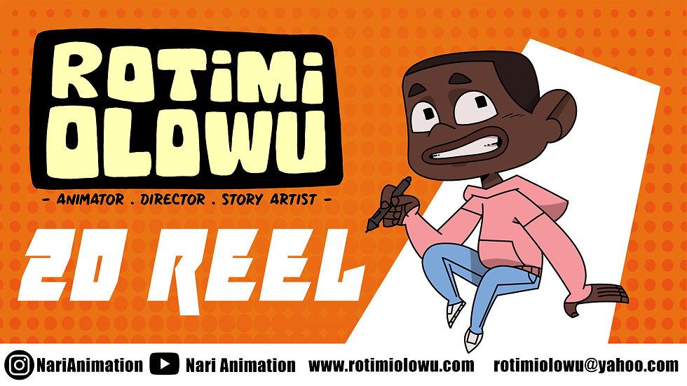 2d animation demo reel 2019