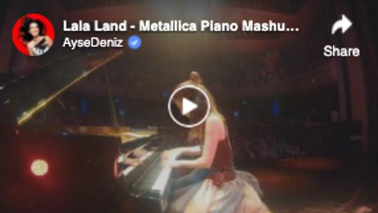 Lala Land - Metallica Piano Mashup - Zorlu PSM Jazz Fest 19