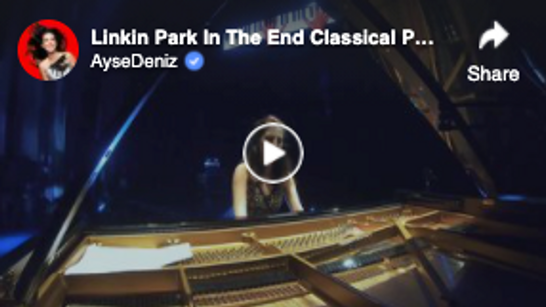 Linkin Park In The End Classical Piano Arrangement | AyseDeniz