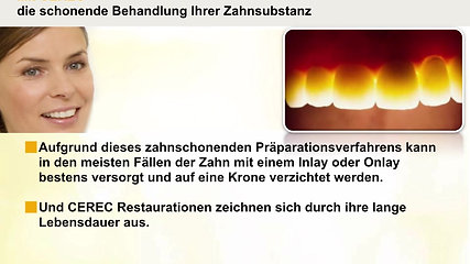 CEREC Patientenpräsentation