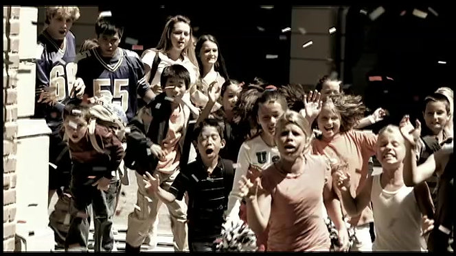 "Airborne ""Running of the Kids"""