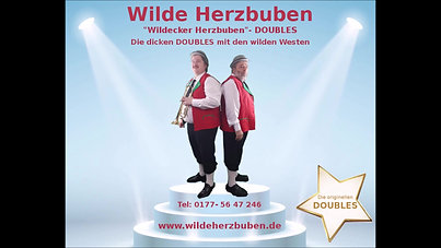 """Doubles-Show: """"Wilde Herzbuben"""" - Die """"Wildecker Herzbuben""""- DOUBLES!"""
