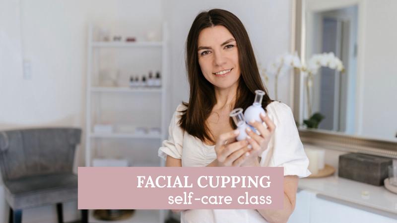 Facial cupping, self-care ritual