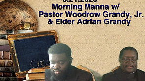 Pastor Woodrow Grandy and Pastor Adrian Grandy Father's Day 2020