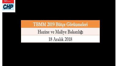 Selin Sayek Böke | 18 Aralık 2018 | Hazine ve Maliye Bakanlığı Bütçesi hakkında