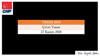 CHP İZMİR MİLLETVEKİLİ SELİN SAYEK BÖKE MECLİS KONUŞMASI-27 KASIM 2018