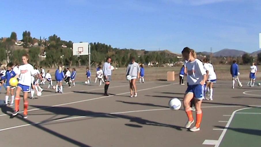 Soccerobics in Santa Clarita