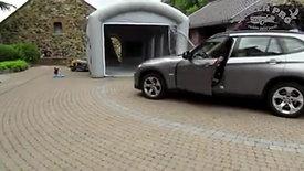 carrosserie a domicile avec cabine peinture gonflable