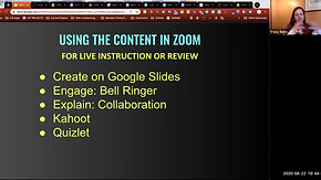 IU8 Lessons in Zoom