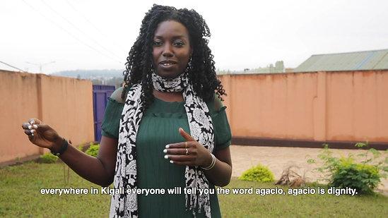 In Rwanda with Mariam