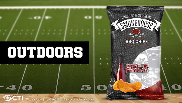 Sunlight Activated Packaging. Perfect for Tailgating.