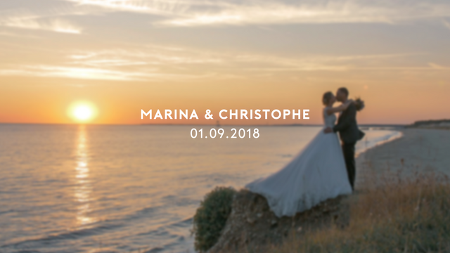 Bande-annonce - Marina & Christophe