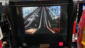 ジェットコースターライド!! 揺れる、リアル音、角度もあり最高♪ 実映像でスリル満点!! キディコースター / アイス社制作