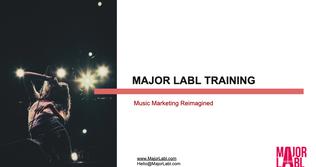 Music Marketing Reimagined