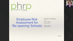 Employee Risk Assessment for 'Re-opening' Schools
