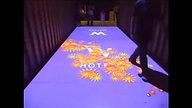 Interactive Floor Projection in Hotel Lobby - W Resort, Samui, Thailand