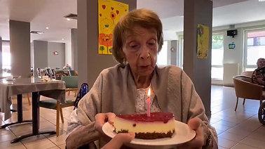 Bon anniversaire madame Haverbeek