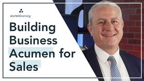 Building Business Acumen for Sales
