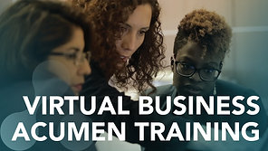 Virtual Business Acumen Training