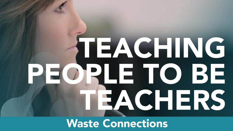 Teaching People to Be Teachers