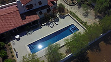 Residential Lap Pool & Spa, Ojai