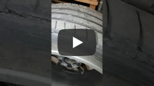 Damage to inside of tyres