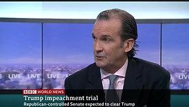 President Trump's impeachment  - BBC World News