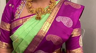 Perfect Saree Draping Model 007
